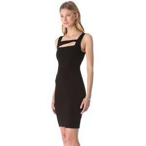 Helmut Helmut Lang Gala Knit Aline Black Dress